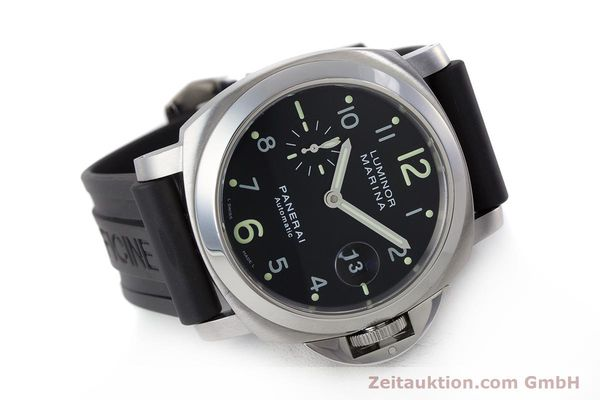 Used luxury watch Panerai Luminor Marina steel automatic Kal. ETA A05511 Ref. OP6553 PAM00164  | 161908 03