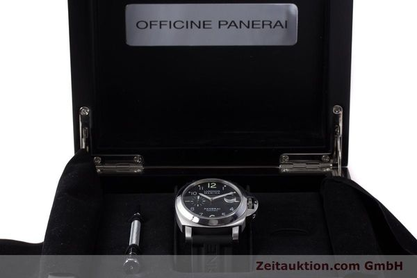 Used luxury watch Panerai Luminor Marina steel automatic Kal. ETA A05511 Ref. OP6553 PAM00164  | 161908 07