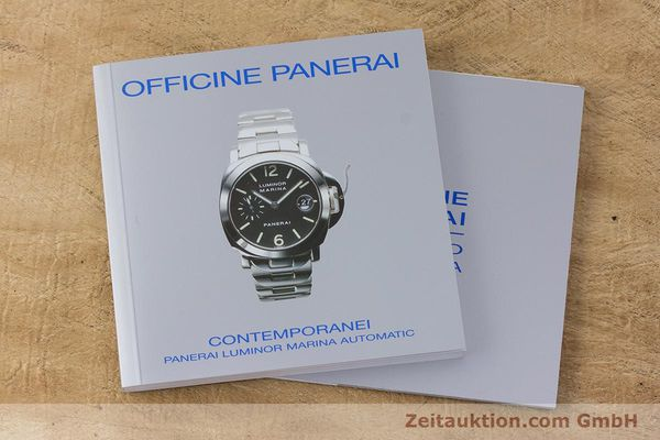 Used luxury watch Panerai Luminor Marina steel automatic Kal. ETA A05511 Ref. OP6553 PAM00164  | 161908 13