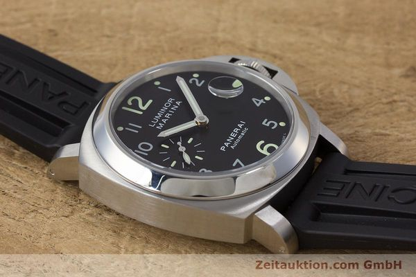 Used luxury watch Panerai Luminor Marina steel automatic Kal. ETA A05511 Ref. OP6553 PAM00164  | 161908 17