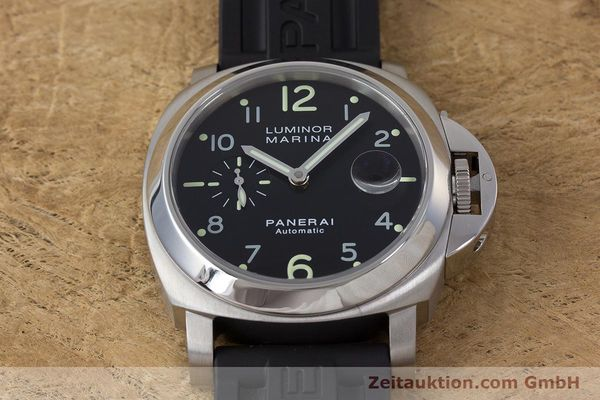 Used luxury watch Panerai Luminor Marina steel automatic Kal. ETA A05511 Ref. OP6553 PAM00164  | 161908 18