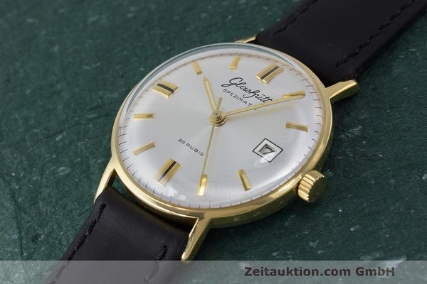Used luxury watch Glashütte Spezimatic gold-plated automatic Kal. 75 VINTAGE  | 161911 01
