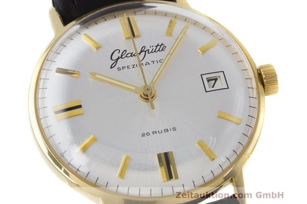 Used luxury watch Glashütte Spezimatic gold-plated automatic Kal. 75 VINTAGE  | 161911 02