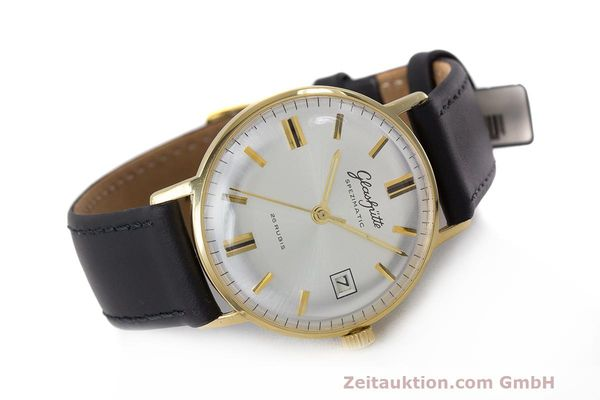 Used luxury watch Glashütte Spezimatic gold-plated automatic Kal. 75 VINTAGE  | 161911 03