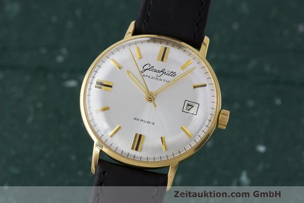 Used luxury watch Glashütte Spezimatic gold-plated automatic Kal. 75 VINTAGE  | 161911 04