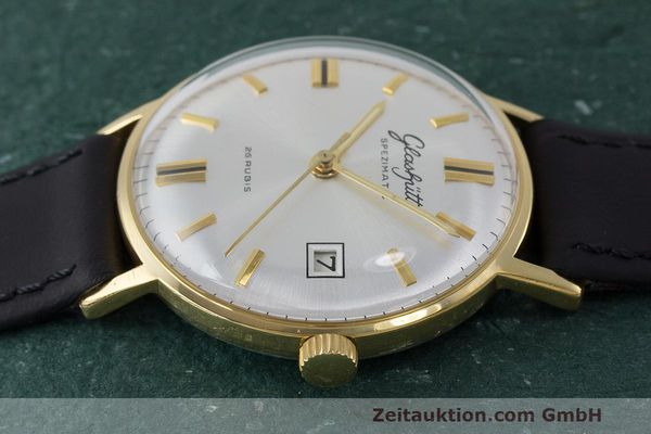 Used luxury watch Glashütte Spezimatic gold-plated automatic Kal. 75 VINTAGE  | 161911 05