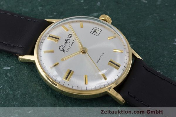 Used luxury watch Glashütte Spezimatic gold-plated automatic Kal. 75 VINTAGE  | 161911 12