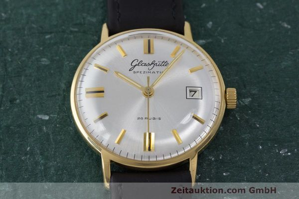 Used luxury watch Glashütte Spezimatic gold-plated automatic Kal. 75 VINTAGE  | 161911 13