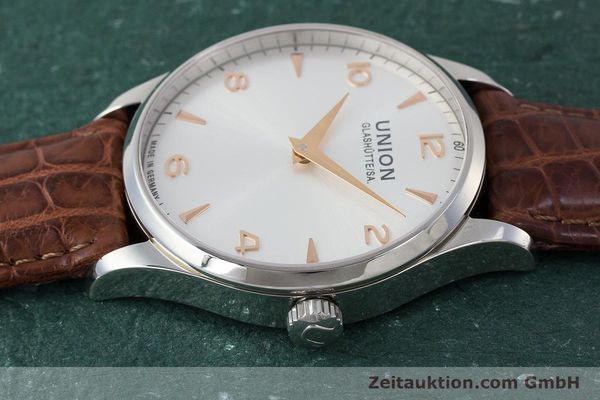 Used luxury watch Union Glashütte Noramis steel automatic Kal. U2892A2 ETA 2892A2 Ref. D005.433A  | 161914 05