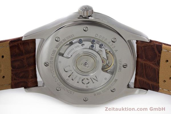 Used luxury watch Union Glashütte Noramis steel automatic Kal. U2892A2 ETA 2892A2 Ref. D005.433A  | 161914 08