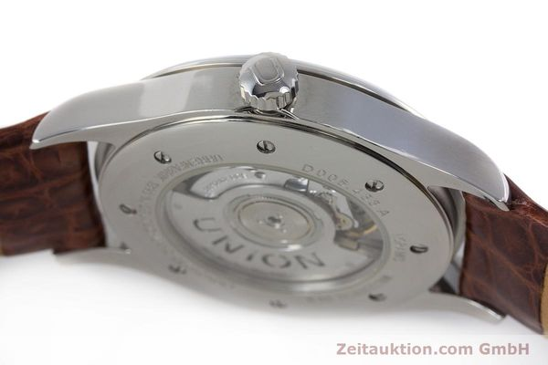 Used luxury watch Union Glashütte Noramis steel automatic Kal. U2892A2 ETA 2892A2 Ref. D005.433A  | 161914 11