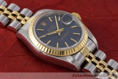 ROLEX LADY OYSTER DATEJUST GOLD / STAHL DAMENUHR AUTOMATIK 69173 VP: 6950,- EURO [161916]