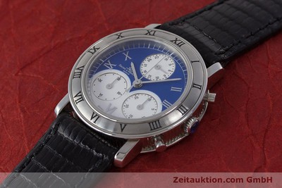 BAUME & MERCIER TRANSPACIFIC CHRONOGRAPHE ACIER QUARTZ KAL. 212P [161918]
