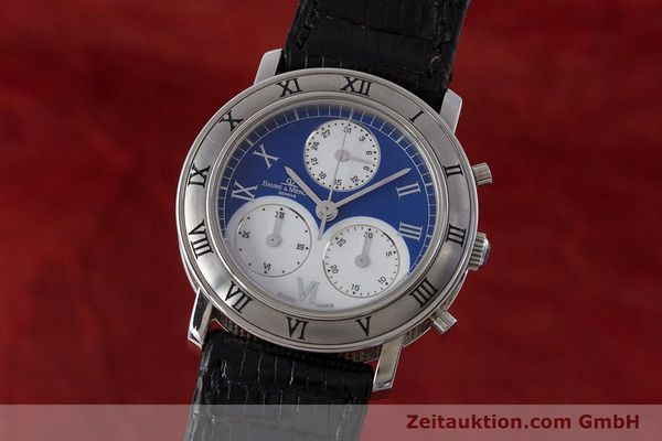 BAUME & MERCIER TRANSPACIFIC CHRONOGRAPH STEEL QUARTZ KAL. 212P [161918]