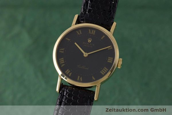 ROLEX CELLINI ORO 18 CT CARICA MANUALE KAL. 1601 LP: 4300EUR [161922]