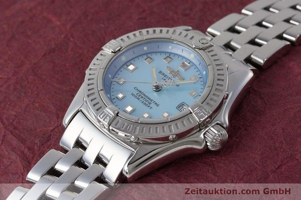 Used luxury watch Breitling Callistino steel quartz Kal. B72 ETA 956.152 Ref. A72345  | 161926 01