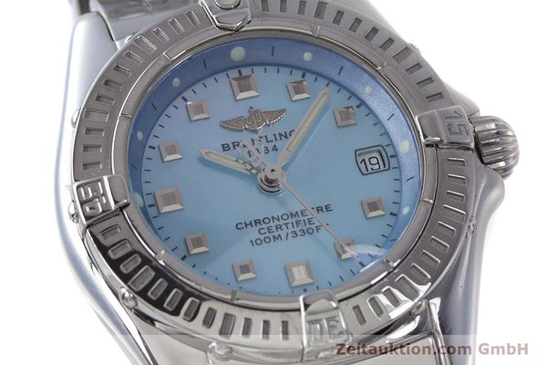 Used luxury watch Breitling Callistino steel quartz Kal. B72 ETA 956.152 Ref. A72345  | 161926 02