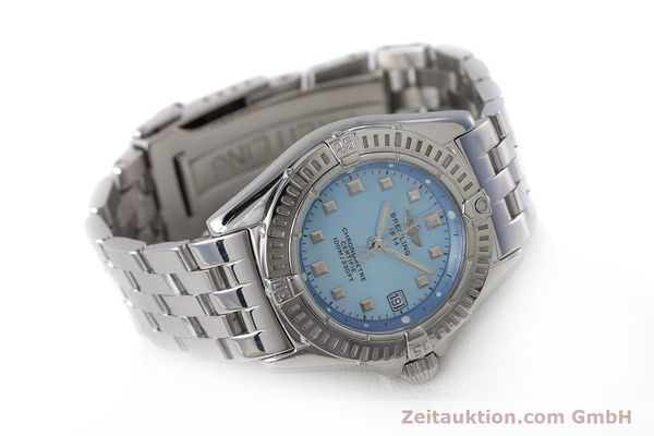Used luxury watch Breitling Callistino steel quartz Kal. B72 ETA 956.152 Ref. A72345  | 161926 03