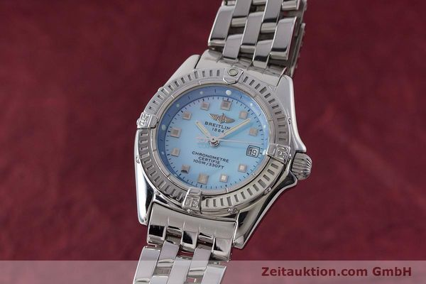 Used luxury watch Breitling Callistino steel quartz Kal. B72 ETA 956.152 Ref. A72345  | 161926 04