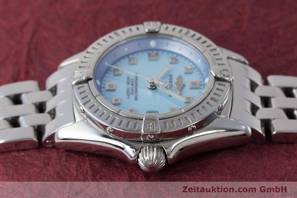 Used luxury watch Breitling Callistino steel quartz Kal. B72 ETA 956.152 Ref. A72345  | 161926 05