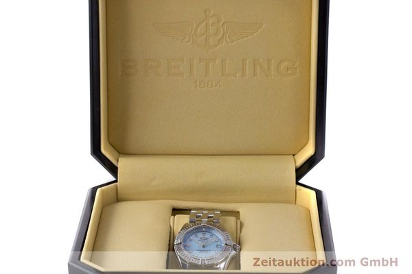 Used luxury watch Breitling Callistino steel quartz Kal. B72 ETA 956.152 Ref. A72345  | 161926 07