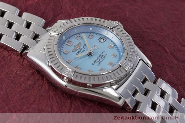 Used luxury watch Breitling Callistino steel quartz Kal. B72 ETA 956.152 Ref. A72345  | 161926 14