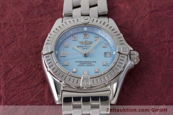 Used luxury watch Breitling Callistino steel quartz Kal. B72 ETA 956.152 Ref. A72345  | 161926 15
