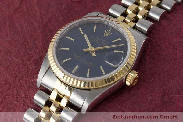Used luxury watch Rolex Datejust steel / gold automatic Kal. 2135 Ref. 68273  | 161929 01