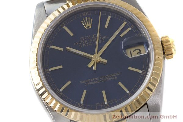 Used luxury watch Rolex Datejust steel / gold automatic Kal. 2135 Ref. 68273  | 161929 02