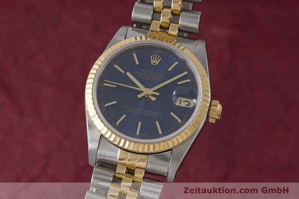 ROLEX OYSTER DATEJUST GOLD /STAHL MEDIUM AUTOMATIK REF 68273 VP: 8750,- EURO [161929]