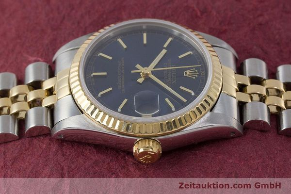 Used luxury watch Rolex Datejust steel / gold automatic Kal. 2135 Ref. 68273  | 161929 05