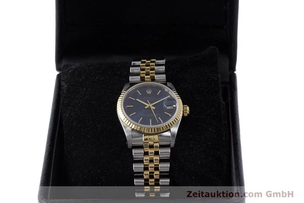 Used luxury watch Rolex Datejust steel / gold automatic Kal. 2135 Ref. 68273  | 161929 07