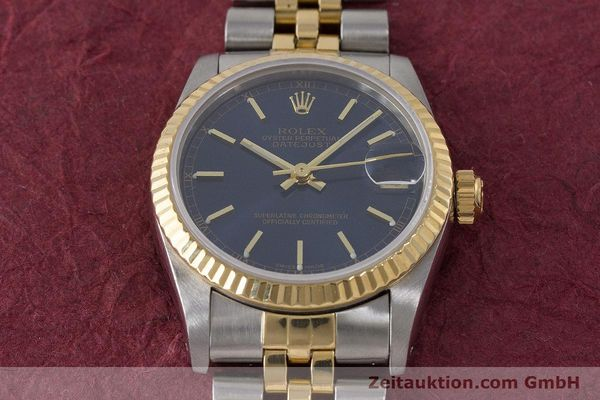 Used luxury watch Rolex Datejust steel / gold automatic Kal. 2135 Ref. 68273  | 161929 14