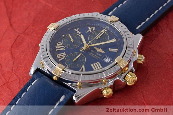 Used luxury watch Breitling Crosswind chronograph steel / gold automatic Kal. B13 ETA 7750 Ref. B13355  | 161930 01