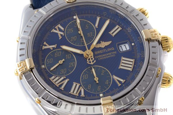Used luxury watch Breitling Crosswind chronograph steel / gold automatic Kal. B13 ETA 7750 Ref. B13355  | 161930 02