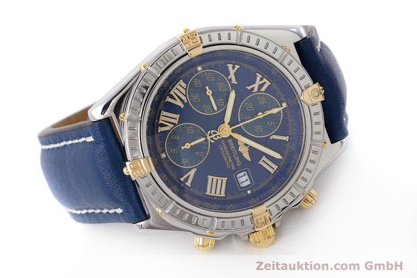 Used luxury watch Breitling Crosswind chronograph steel / gold automatic Kal. B13 ETA 7750 Ref. B13355  | 161930 03