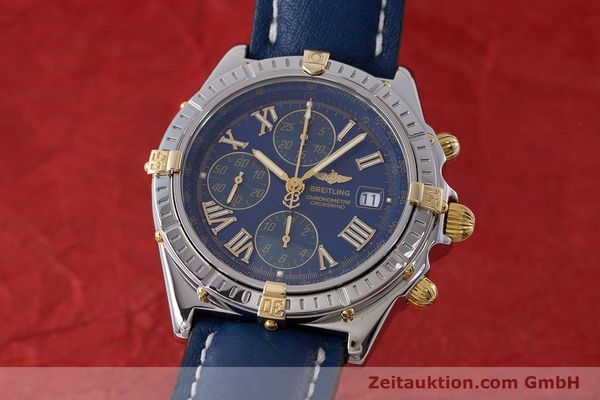 Used luxury watch Breitling Crosswind chronograph steel / gold automatic Kal. B13 ETA 7750 Ref. B13355  | 161930 04