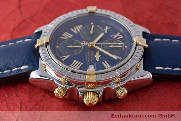 Used luxury watch Breitling Crosswind chronograph steel / gold automatic Kal. B13 ETA 7750 Ref. B13355  | 161930 05
