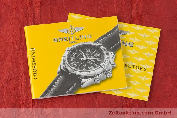 Used luxury watch Breitling Crosswind chronograph steel / gold automatic Kal. B13 ETA 7750 Ref. B13355  | 161930 12