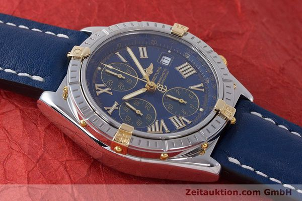 Used luxury watch Breitling Crosswind chronograph steel / gold automatic Kal. B13 ETA 7750 Ref. B13355  | 161930 15