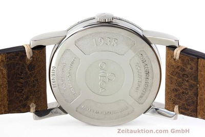 OMEGA 1938 MUSEUM COLLETION AUTOMATIK HERRENUHR LIMITIERT 0418/4938 VP: 4620,- Euro [161931]