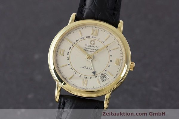 ZENITH 18 CT GOLD AUTOMATIC KAL. 672 LP: 12900EUR [161933]