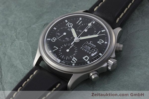 Used luxury watch Sinn 358 chronograph steel automatic  | 161935 01