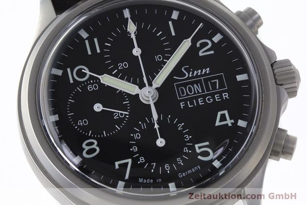 Used luxury watch Sinn 358 chronograph steel automatic  | 161935 02