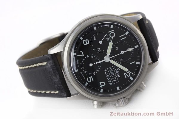 Used luxury watch Sinn 358 chronograph steel automatic  | 161935 03