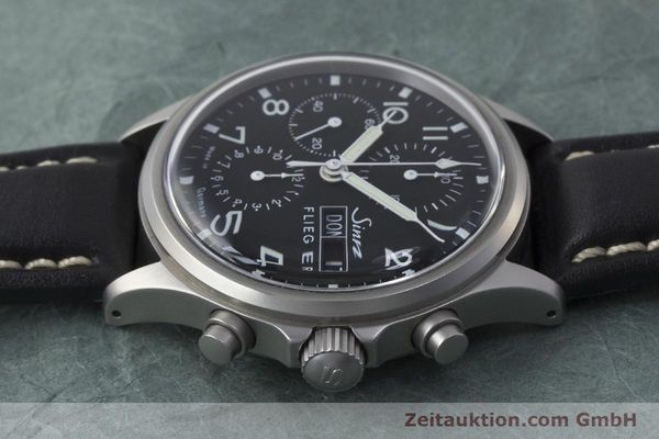Used luxury watch Sinn 358 chronograph steel automatic  | 161935 05