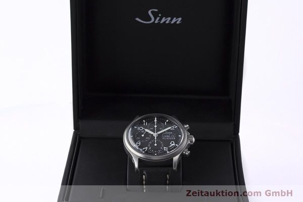 Used luxury watch Sinn 358 chronograph steel automatic  | 161935 07