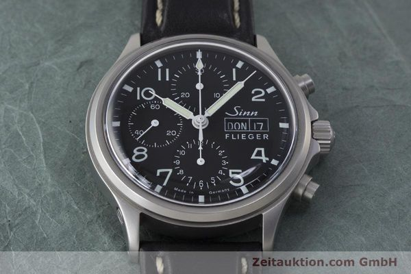 Used luxury watch Sinn 358 chronograph steel automatic  | 161935 16