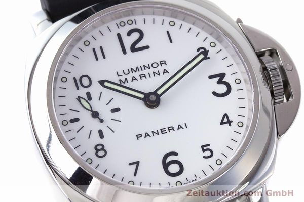 Used luxury watch Panerai Luminor Marina steel manual winding Kal. ETA B99501 Ref. PAM00113 / OP6567  | 161942 02