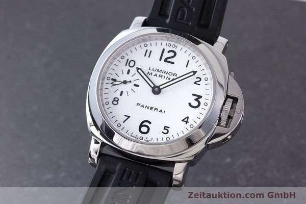 Used luxury watch Panerai Luminor Marina steel manual winding Kal. ETA B99501 Ref. PAM00113 / OP6567  | 161942 04